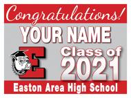 24x18 Graduation Yard Sign - Design Option 1