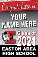 24x36 Graduation Banner - Design Option 1