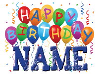 Happy Birthday 24 x18 Step Stake Sign